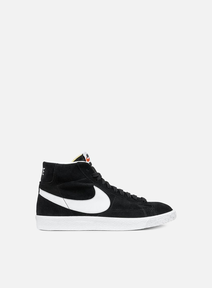 Nike - Blazer Mid PRM, Black/White/Gum Light Brown