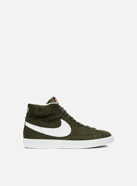 High Sneakers Nike Blazer Mid PRM