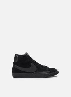 Nike - Blazer Mid PRM VNTG, Black/Black/Gum Light Brown