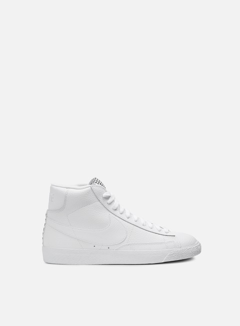 sneakers nike blazer mid prm vntg white white gum light brown