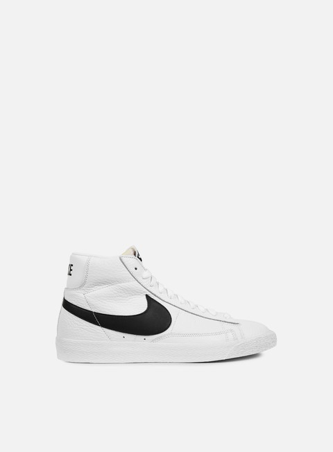 sneakers nike blazer mid retro white black white