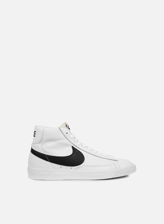 Nike - Blazer Mid Retro, White/Black/White