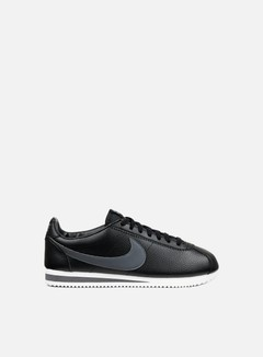 Nike - Classic Cortez Leather, Black/Dark Grey/White