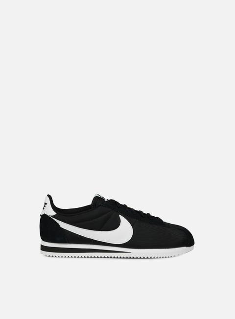 sneakers nike classic cortez nylon black white