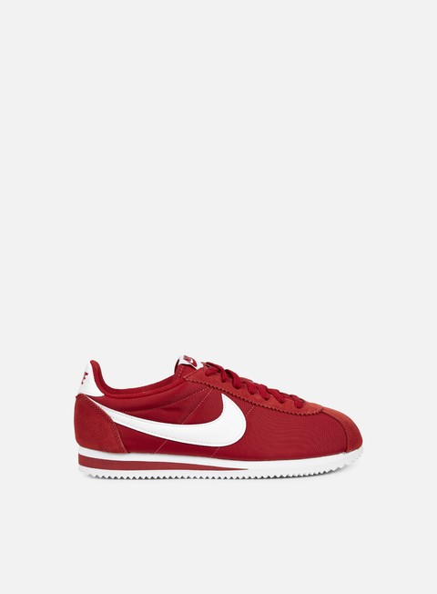 sneakers nike classic cortez nylon gym red white