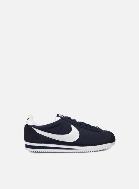 sneakers nike classic cortez nylon obsidian white