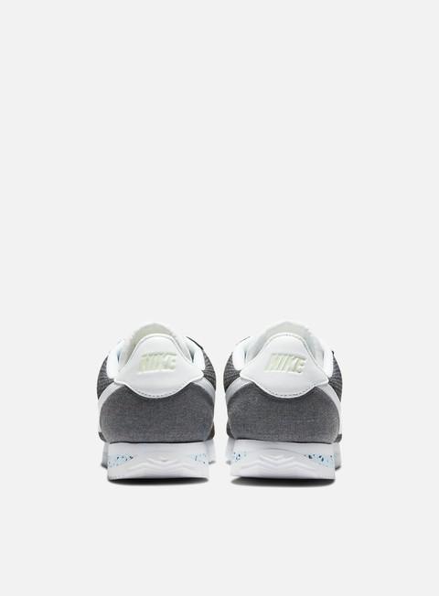 nike cortez white and gray