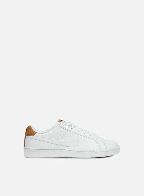 sneakers nike court royale premium white white black