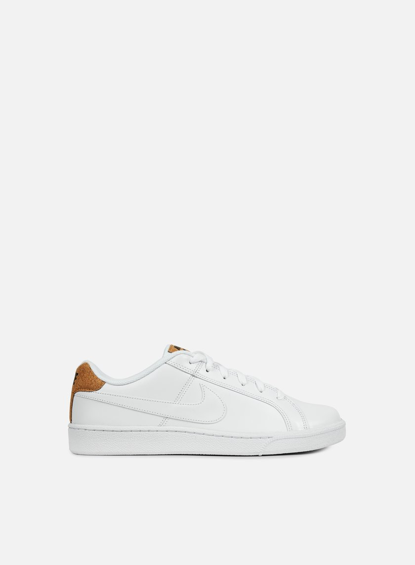 Nike - Court Royale Premium, White/White/Black