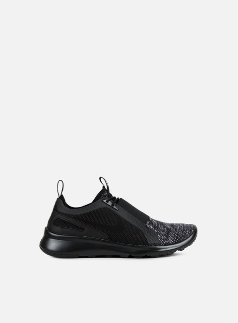 sneakers nike current slip on br black black black