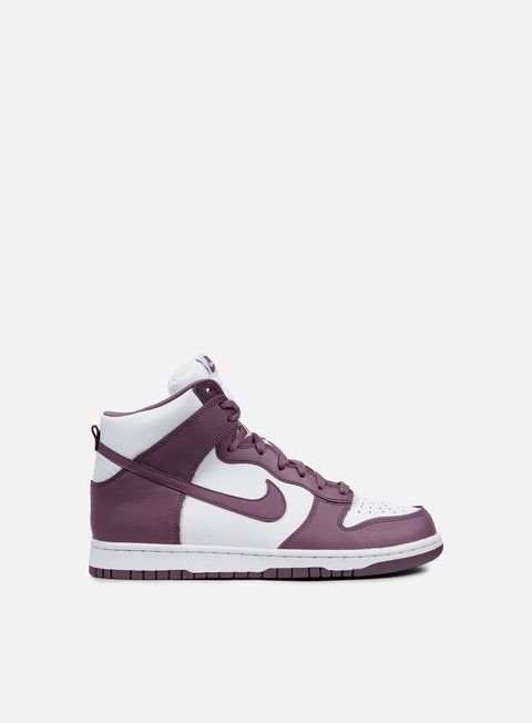 sneakers nike dunk retro violet dust violet dust white
