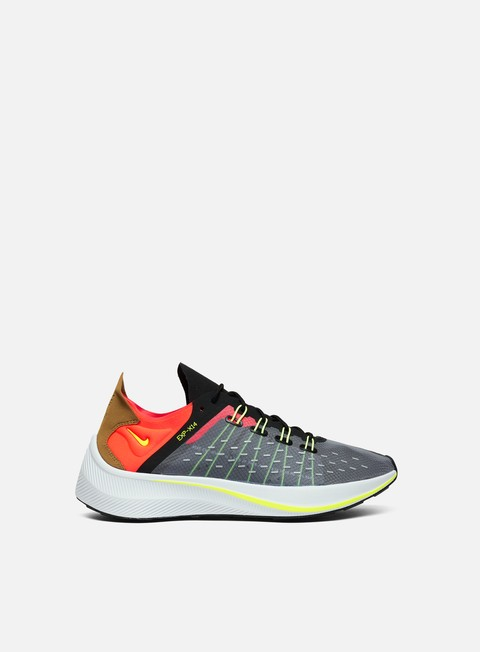 sneakers nike exp x14 black volt total crimson