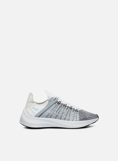 sneakers nike exp x14 white wolf grey black