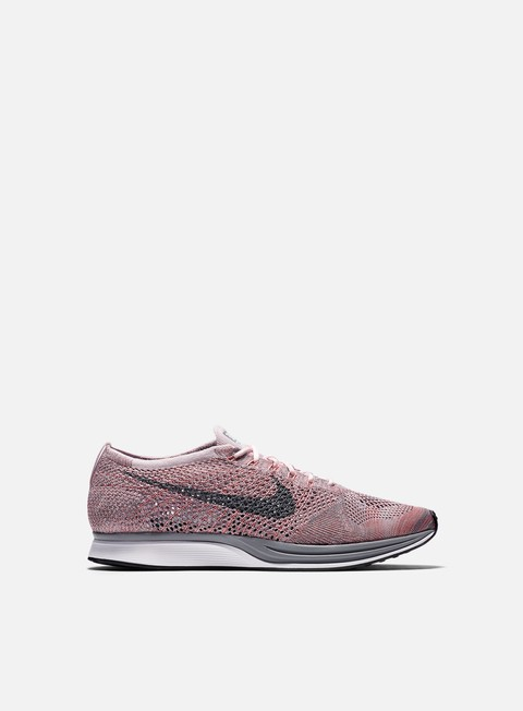 sneakers nike flyknit racer pearl pink cool grey