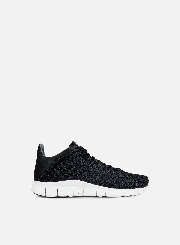 Nike - Free Inneva Woven, Black/Anthracite/Summit White