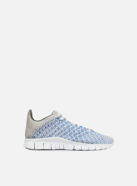 sneakers nike free inneva woven fountain blue granite summit white