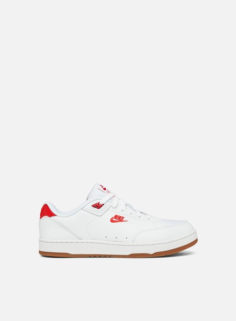 sneakers nike grandstand ii premium white university red