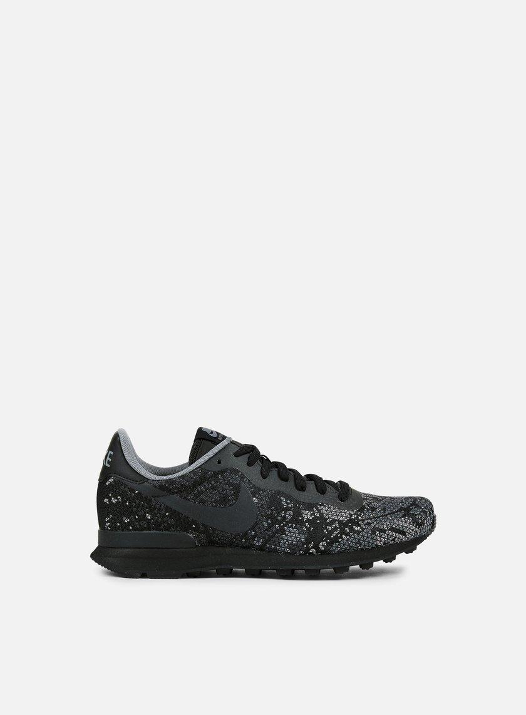 Nike - Internationalist JCRD QS, Black/Black/Dark Grey