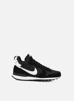 Nike - Internationalist Mid, Black/White/Wolf Grey