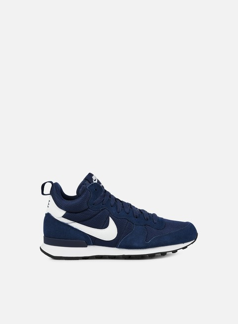 sneakers nike internationalist mid midnight navy white white