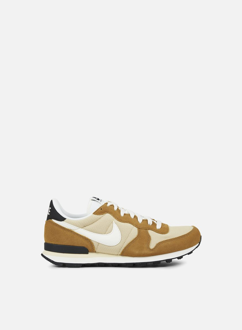 nike internationalist gold sail