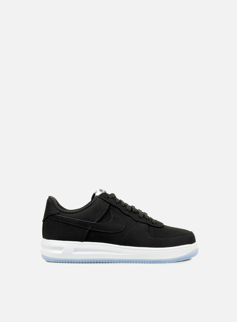 sneakers nike lunar force 1 14 black black white