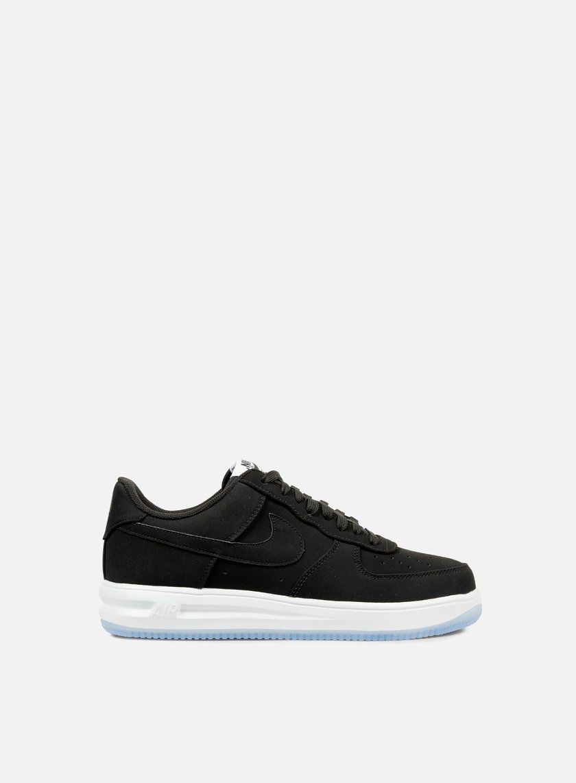 Nike - Lunar Force 1 14, Black/Black/White
