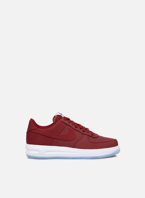 sneakers nike lunar force 1 14 team red team red white