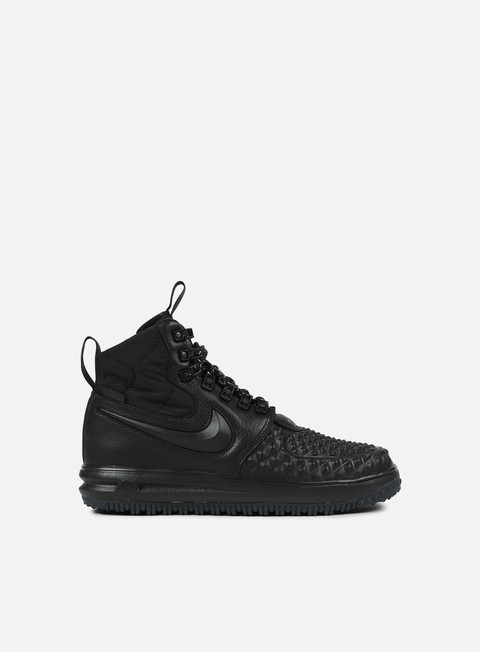 sneakers nike lunar force 1 duckboot 17 black black anthracite