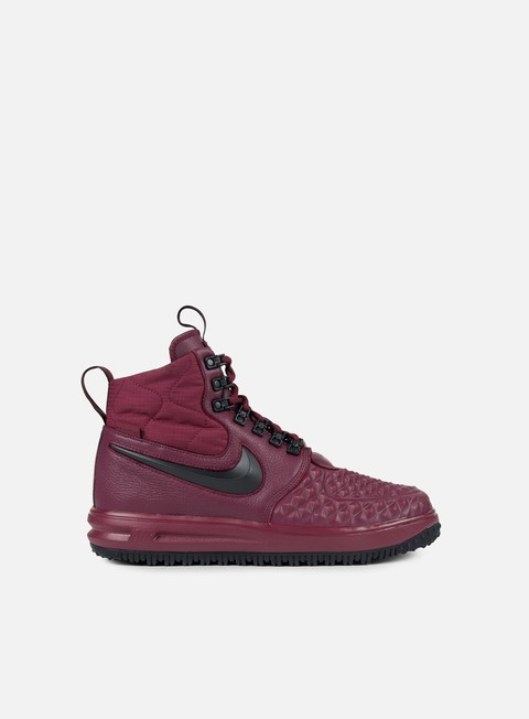 sneakers nike lunar force 1 duckboot 17 bordeaux black