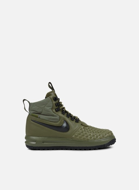 sneakers nike lunar force 1 duckboot 17 medium olive black wolf grey