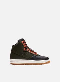 Nike - Lunar Force 1 Duckboot 18, Black/Sequoia/Sail/Gum/Light Brown