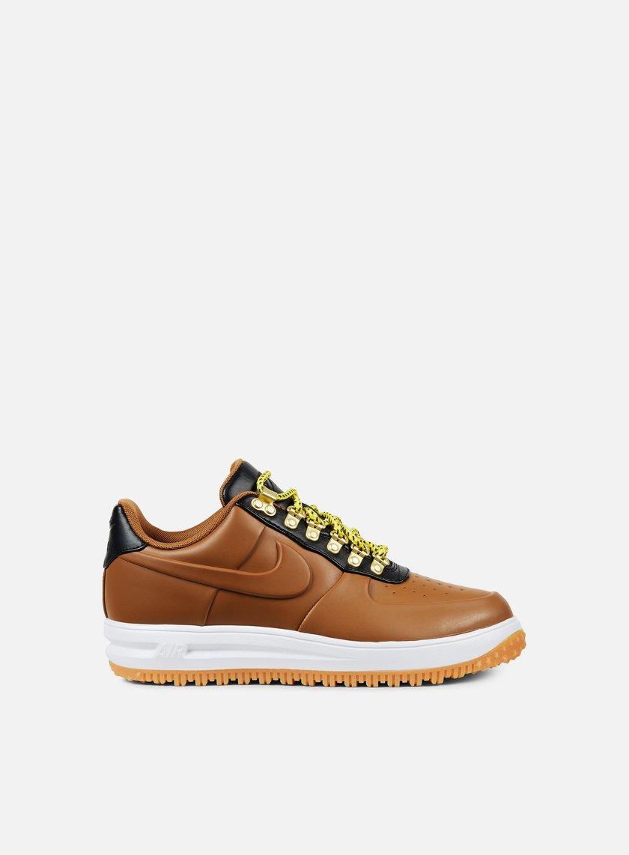Nike - Lunar Force 1 Duckboot Low, Ale Brown/Ale Brown/Black