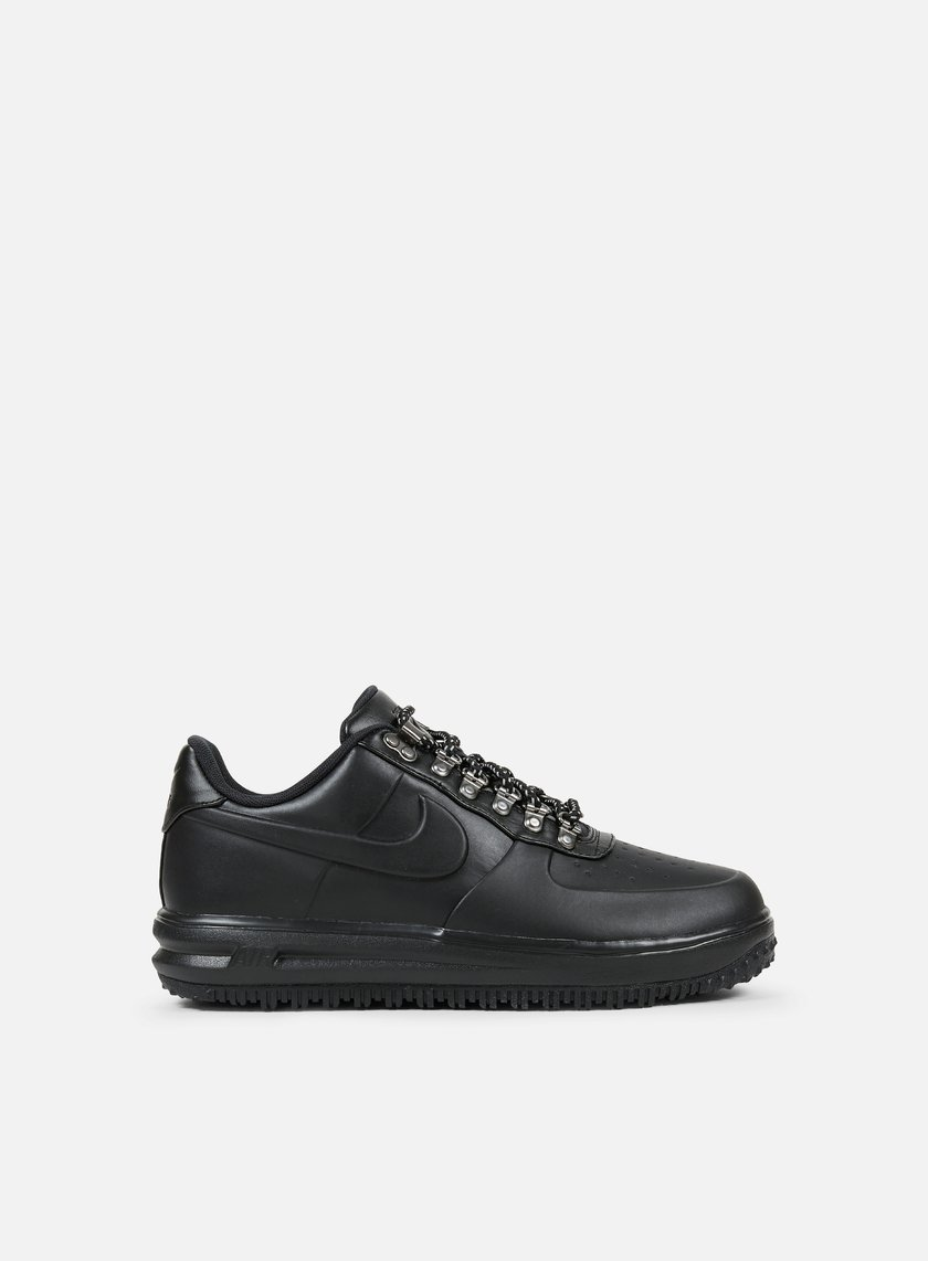Nike - Lunar Force 1 Duckboot Low, Black/Black