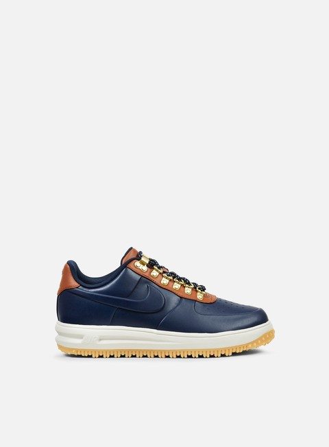 sneakers nike lunar force 1 duckboot low obsidian obsidian saddle brown