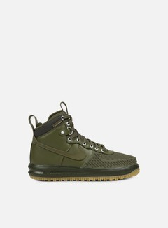 Nike - Lunar Force 1 Duckboot, Medium Olive/Medium Olive 1