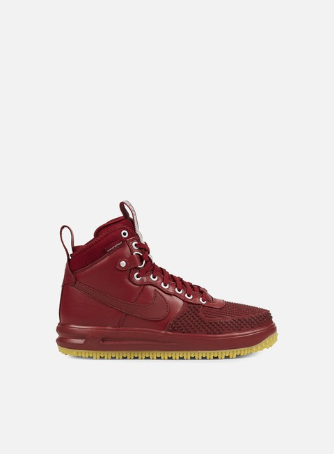 sneakers nike lunar force 1 duckboot team red team red