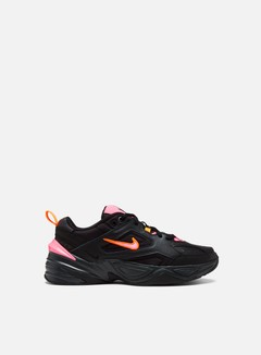 Nike - M2K Tekno, Black/Sunset Pulse/Off Noir