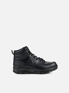 Nike - Manoa Leather, Black/Black/Black