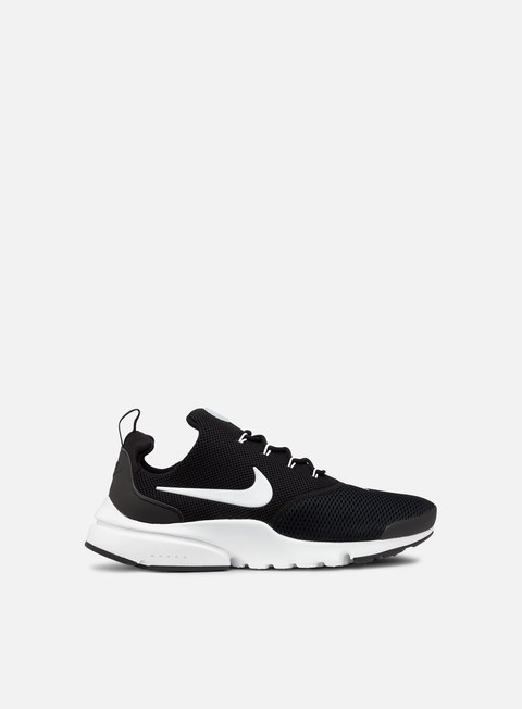 sneakers nike presto fly black white black