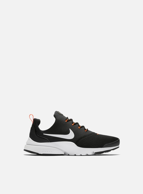 sneakers nike presto fly jdi black white total orange