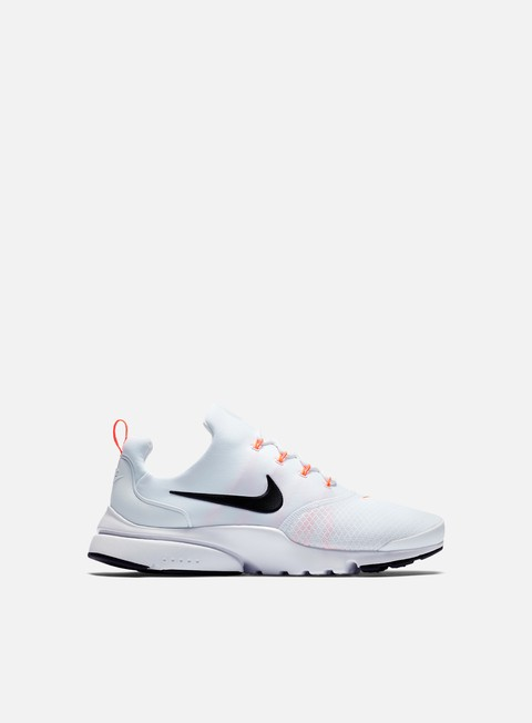 sneakers nike presto fly jdi white black total orange
