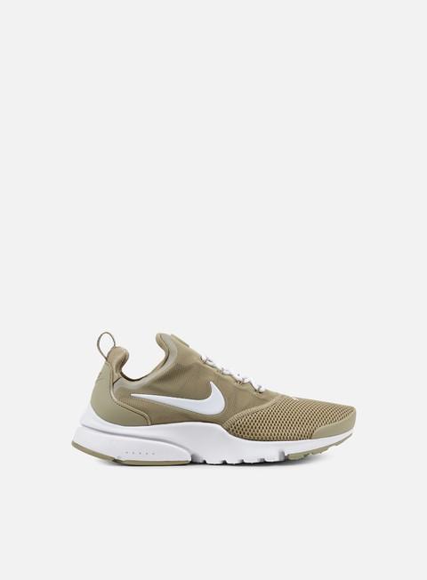 sneakers nike presto fly khaki white