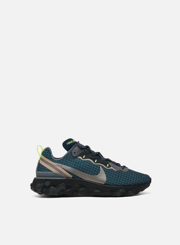 Uomo Nike Sneakers Da Basse React Element 55 lFKT1Jc3
