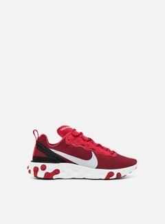 Nike - React Element 55, Gym Red/Wolf Grey/Black
