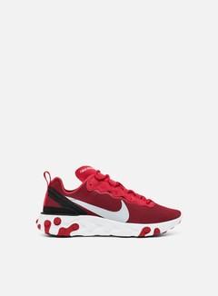 Nike - React Element 55, Gym Red/Wolf Grey/Black