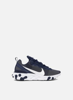 Nike - React Element 55, Midnight Navy/White