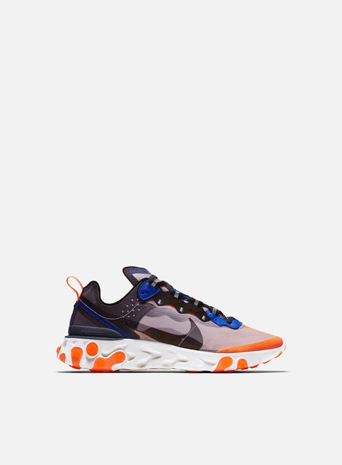sneakers nike react element 87 wolf grey black thunder blue