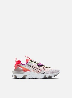 Nike - React Vision, Summit White/Black/Barely Volt