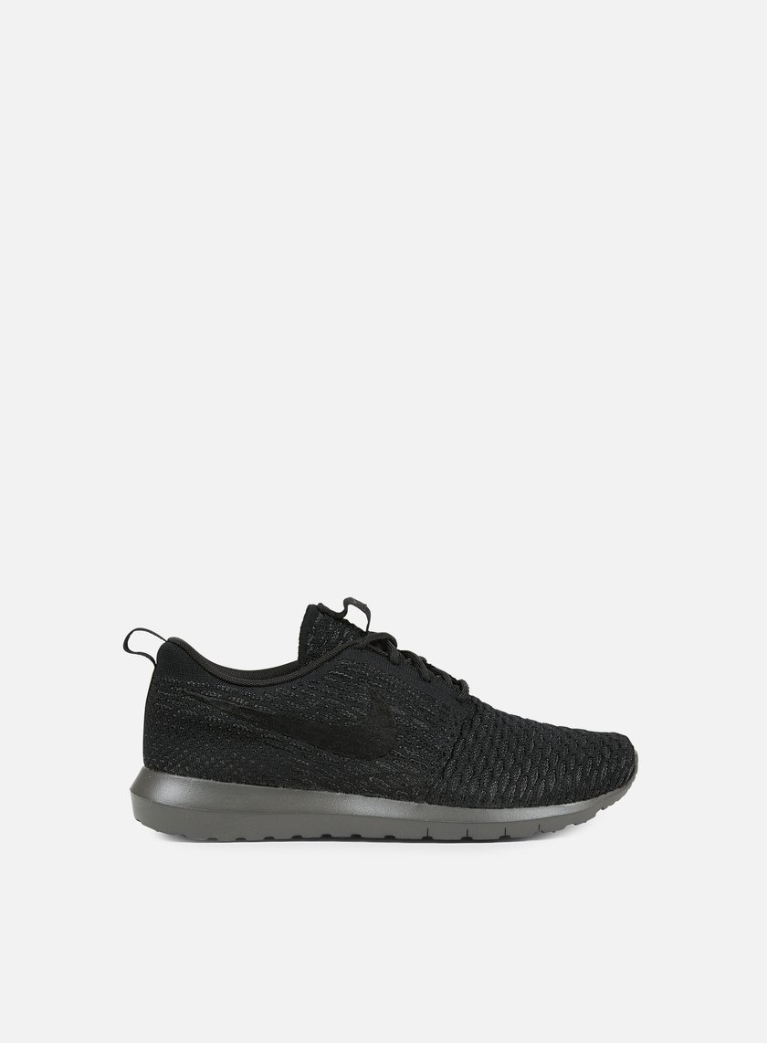 Nike - Roshe NM Flyknit, Black/Black/Midnight Fog